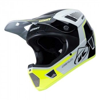 Kenny BMX Helm Scrub White/Yellow