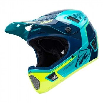 Kenny BMX Helm Scrub Aqua/Yellow