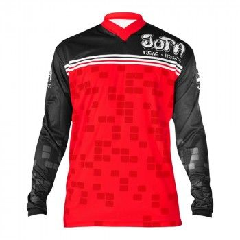 Jopa Kinder Crossshirt Infinity Black/Red