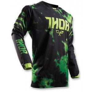 Thor Kinder Shirt Pulse Tydy Lime/Black