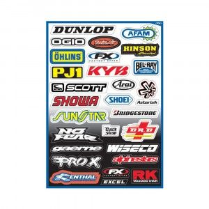Factory Effex Stickervel Sponsor Kit A