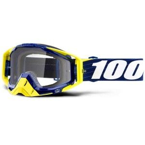 100% Crossbril Racecraft Bibal Navy/Clear