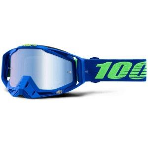 100% Crossbril Racecraft Dreamflow/Mirror Blue