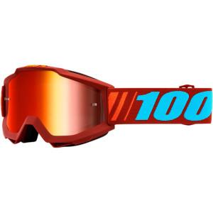 100% Crossbril Accuri Dauphine mirror red