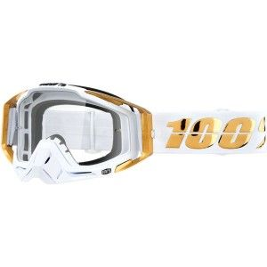 100% Crossbril Racecraft LTD Gold Clear