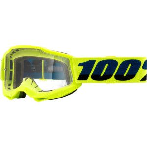 100% Kinder Crossbril Accuri 2 Youth Fluo Yellow Clear
