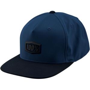 100% Pet Hats Enterpise Snapback Blue