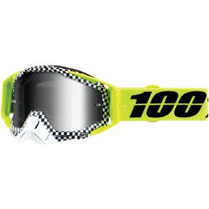 100% Crossbril Racecraft Andre Mirror Silver