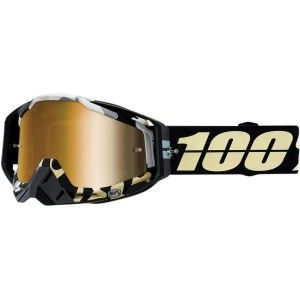 100% Crossbril Racecraft Ergoflash Mirror Gold