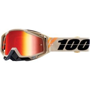 100% Crossbril Racecraft Poliet Mirror Red