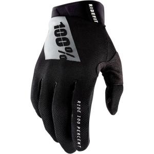 100% Ridefit Crosshandschoenen Black