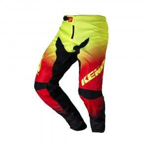 Kenny BMX Broek Elite Black/Red/Neon Yellow