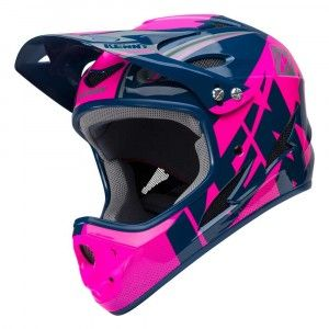 Kenny BMX Helm Downhill Navy/Pink