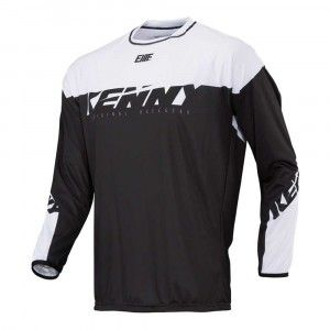 Kenny Kinder BMX Shirt Elite Black/White