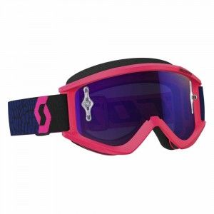 Scott Crossbril Recoil Xi Blue/Fluor Pink/Purple Chrome