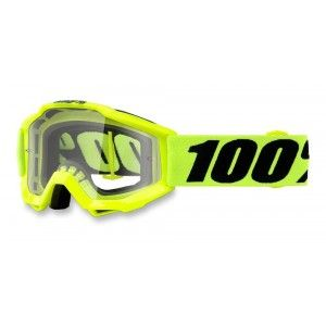100% Kinder Crossbril Accuri Youth Fluo Yellow/Clear