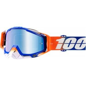 100% Crossbril Racecraft Roxburry/Mirror Blue
