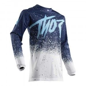 Thor Crossshirt Pulse Air Hype White/Navy