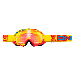 O'Neal Crossbril B-Flex Goggle ETR Yellow/Red/Radium