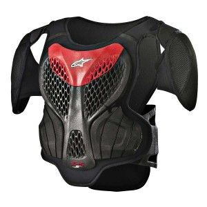 Alpinestars Kinder Body Protector A-5S Black/Red