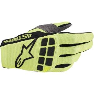 Alpinestars Racefend Crosshandschoenen Black/Fluor Yellow