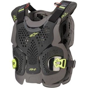 Alpinestars A-1 Plus Roost Guard Black/Anthracite