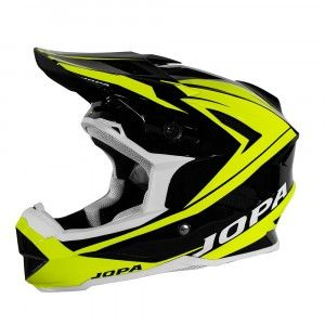 Jopa BMX Helm Flash Black/Fluor Yellow