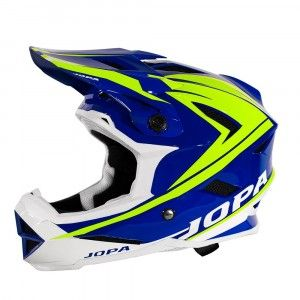 Jopa BMX Helm Flash Blue/Fluor Yellow