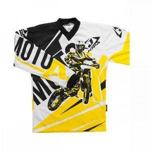 Jopa Kinder Shirt Moto-X Yellow