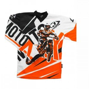 Jopa Kinder Shirt Moto-X Orange