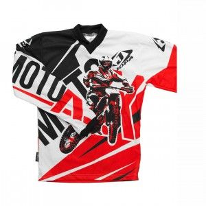 Jopa Kinder Shirt Moto-X Red