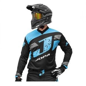 Jopa Crossshirt Capital Light Blue/Black