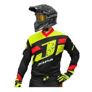 Jopa Crossshirt Capital Neon Yellow/Black