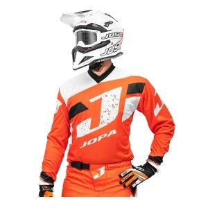 Jopa Crossshirt Capital Orange/White