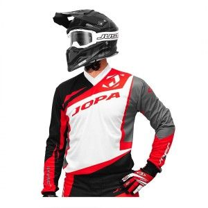 Jopa Crossshirt Divergent White/Black/Red