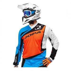 Jopa Crossshirt Divergent Orange/Light Blue
