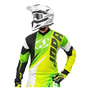 Jopa Crossshirt Elusion Neon Yellow/Neon Green