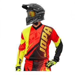 Jopa Crossshirt Elusion Neon Yellow/Red