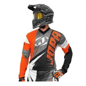 Jopa Crossshirt Elusion Orange/Black