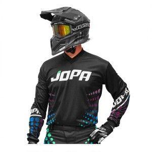 Jopa Crossshirt Luna Black/Dots