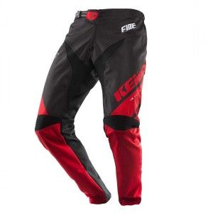 Kenny Kinder BMX Broek Elite Black/Red