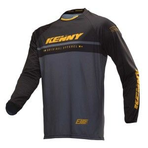 Kenny Kinder BMX Shirt Elite Black/Gold