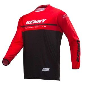 Kenny BMX Shirt Elite Black/Red