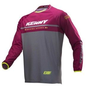Kenny Kinder BMX Shirt Elite Burgundy