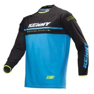 Kenny BMX Shirt Elite Cyan/Black