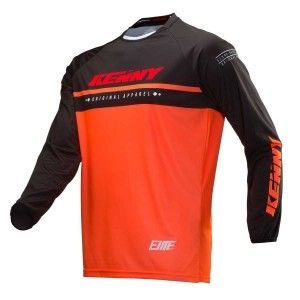 Kenny Kinder BMX Shirt Elite Neon Orange