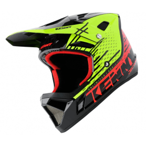Kenny BMX Helm decade Neon Yellow Red