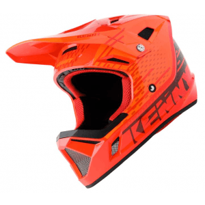 Kenny BMX Helm decade Graphic Red Orange