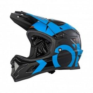 O'Neal BMX Helm Backflip RL 2 Fidlock Slick Black/Blue
