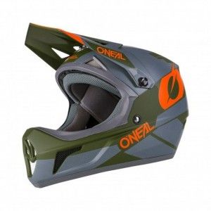 O'Neal BMX Helm Sonus Deft Grey/Olive/Orange